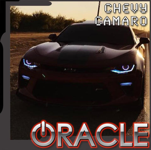 2016-2018 Chevrolet Camaro ORACLE Lighting LED ColorSHIFT Projector Halo Kit