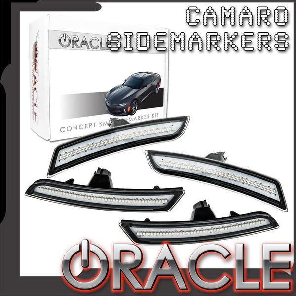 2016-2019 Chevy Camaro ORACLE Concept SMD Sidemarker Set