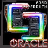 2017-2018 Ford Superduty ORACLE LED ColorSHIFT DRL
