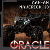 2017-2021 ORACLE Can-Am Maverick X3 Dynamic ColorSHIFT DRL Kit
