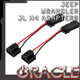 "ORACLE 2018-2019 Jeep Wrangler JL ""Plug & Play"" H4 Headlight Wiring Adapter (Pair)"