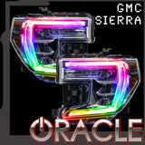 2019-2020 GMC Sierra ORACLE ColorSHIFT RGB+W Headlight DRL Upgrade