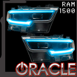 2019-2021 Ram 1500 ORACLE RGBW+A Headlight DRL Upgrade Kit - LED Projector Headlights