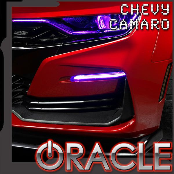 ORACLE Lighting 2019-2021 Chevrolet Camaro SS/RS ColorSHIFT® Fog Light Upgrade Kit