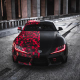 ORACLE Lighting 2020-2021 Toyota Supra GR ColorSHIFT® RGB+A Headlight DRL Upgrade Kit