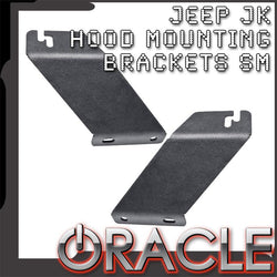 ORACLE Jeep JK Hood Mounting Brackets SM (Pair)