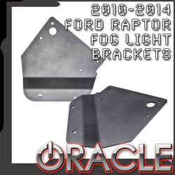 ORACLE 2010-2014 Ford Raptor Fog Light Replacement Brackets (Pair)