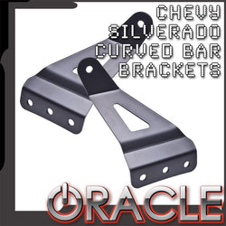 "2007-2013 Chevy Silverado ORACLE Curved 50"" LED Light Bar Brackets"