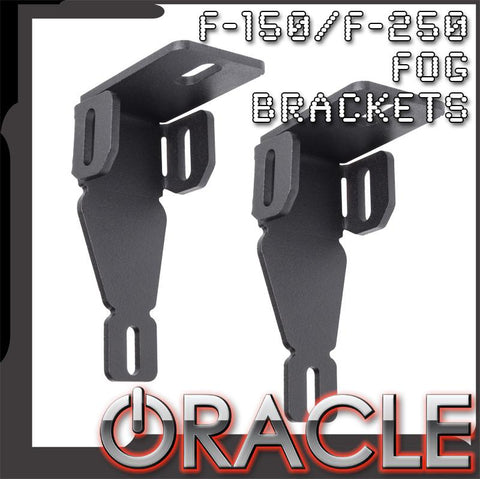 1999-2014 Ford F-150/250 ORACLE LED Fog Light Replacement Brackets