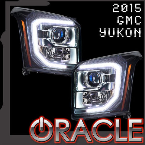2015-2018 GMC Yukon ORACLE LED ColorSHIFT Halo Kit
