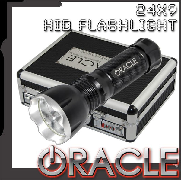 ORACLE 24X-9 Xenon Flashlight- BLACK