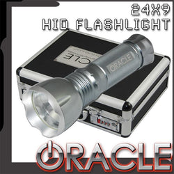 ORACLE 24X-9 Xenon Flashlight- SILVER