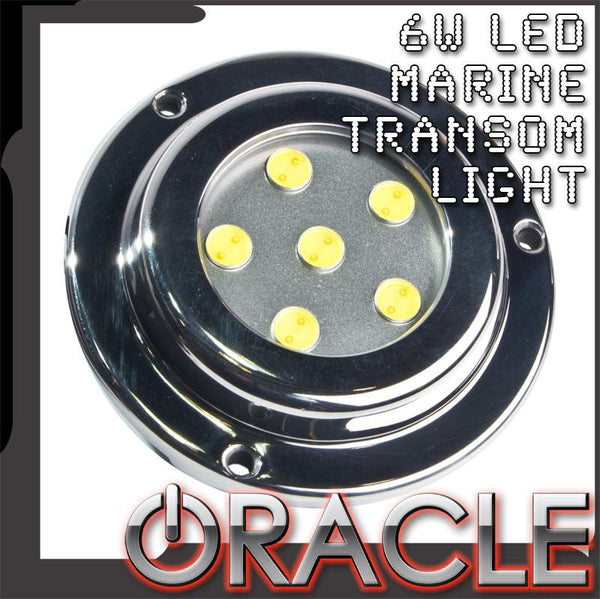 ORACLE 6W LED Marine Transom Light
