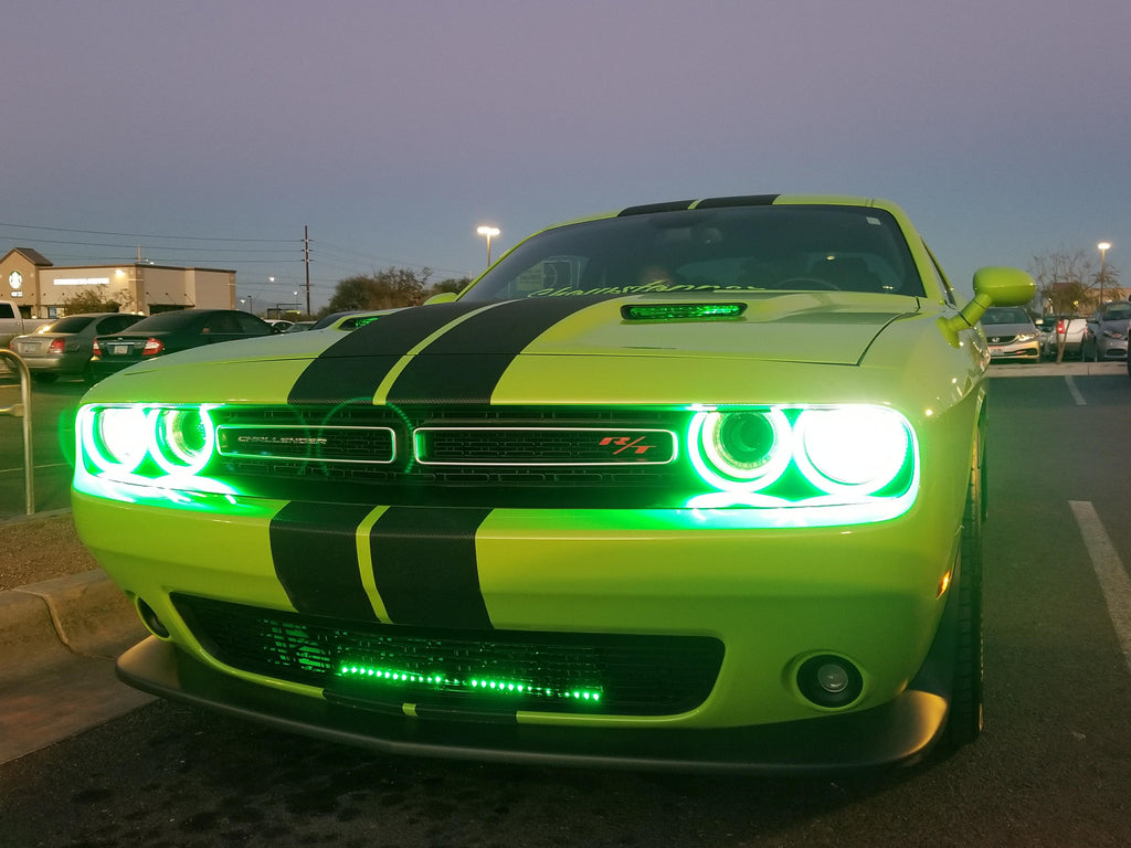 2015 2018 Dodge Challenger Sxt Rt Srt Hellcat Oracle Halo Kit