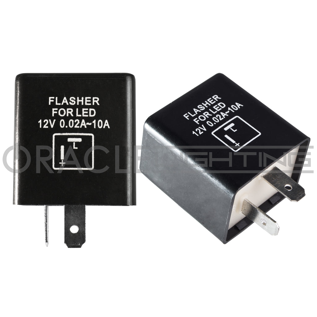 Oracle 2 Pin Flasher Relay Lighting Led Transistors