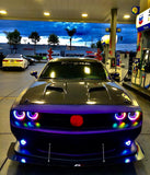 2008-2014 Dodge Challenger ORACLE Dynamic ColorSHIFT Fog Light Halo Kit