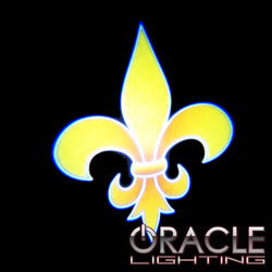 Fleur De Lis ORACLE GOBO LED Door Light Projector