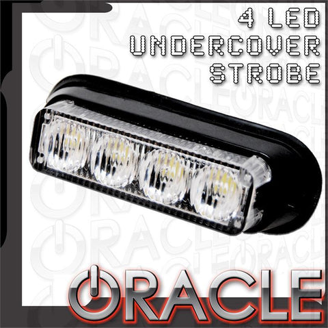 ORACLE 4 LED Undercover Strobe Light