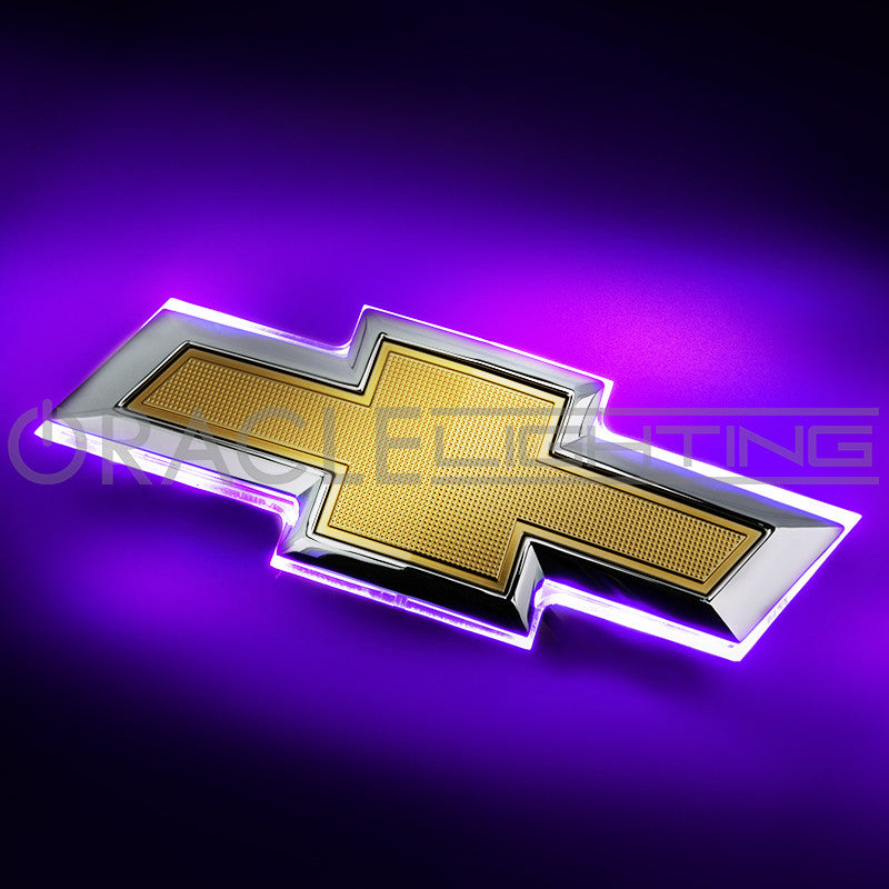 2016 2019 Chevy Camaro Illuminated Rear Bowtie Emblem Oracle Lighting