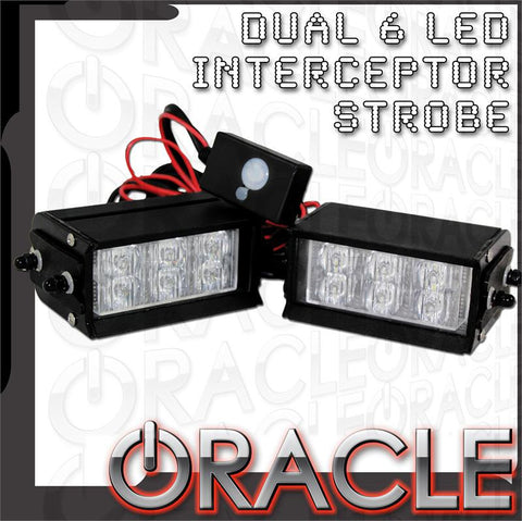 ORACLE Dual 6 LED Undercover Strobe Light