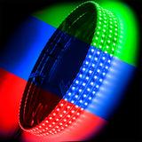 ORACLE Lighting LED Illuminated Wheel Rings - Single / Double Row LED