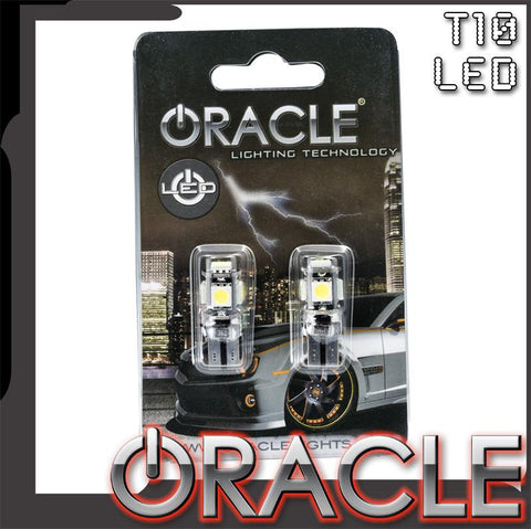 ORACLE T10 5 LED 3 Chip SMD Bulbs (Pair)