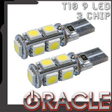 ORACLE T10 9 LED 3 Chip SMD Bulbs (Pair)