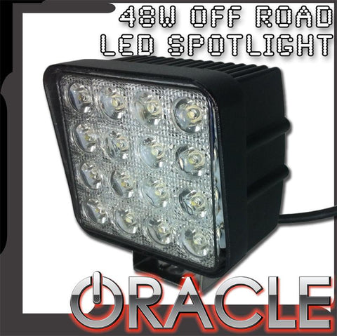 ORACLE Off-Road 4.5'' 48W Square LED Spot Light