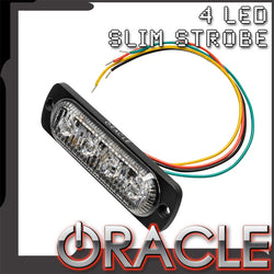 ORACLE 4 LED Dual Color Slim Strobe