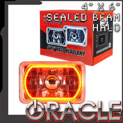 "ORACLE Pre-Installed 4x6"" Sealed Beam Halo - Amber SMD"