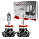 2014-2015 Chevrolet Camaro Non-RS/Z28 ORACLE H11 4,000+ Lumen LED Headlight Conversion Kit - Low Beam