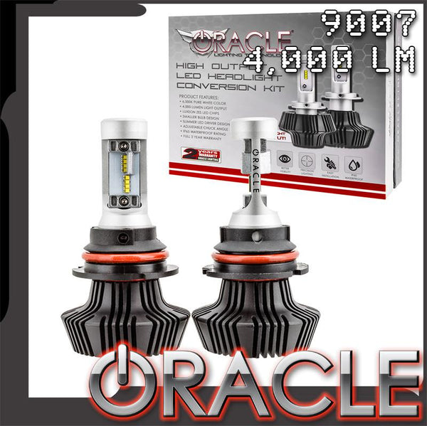 ORACLE 9007 4,000 Lumen LED Headlight Bulbs (Pair)