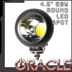 "ORACLE Off-Road 4.5"" 20W Round LED Plasma Style Spot Light - CLEARANCE"