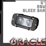 "ORACLE Off-Road 5"" 20W Sleek LED Light Bar - CLEARANCE"