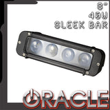 "ORACLE Off-Road 8"" 40W Sleek LED Light Bar - CLEARANCE"