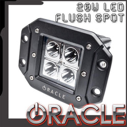ORACLE Off-Road 20W Flush LED Square Spot Light - CLEARANCE