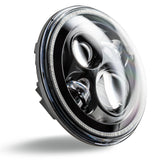 "ORACLE 7"" High Powered LED Headlights (Pair) - Black Bezel"