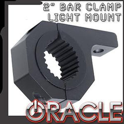 "ORACLE 2"" Aluminum Bar Clamp Auxiliary Light Mount- Light Bar Bracket - CLEARANCE"