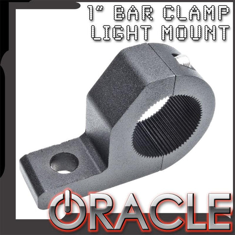 "ORACLE Off-Road 1"" Aluminum Bar Clamp Mount - CLEARANCE"