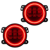 Jeep Gladiator Sahara High Powered LED Fog Light Replacement-(Pair)