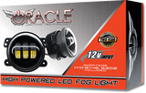 Jeep Wrangler JL Sahara High Powered LED Fog Light Replacement-(Pair)
