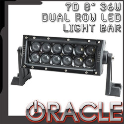 "ORACLE Black Series - 7D 8"" 36W Dual Row LED Light Bar"