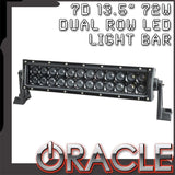 "ORACLE Black Series - 7D 13.5"" 72W Dual Row LED Light Bar"