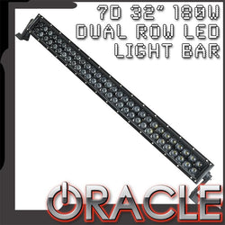 "ORACLE Black Series - 7D 32"" 180W Dual Row LED Light Bar"