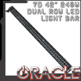 "ORACLE Black Series - 7D 42"" 240W Dual Row LED Light Bar"
