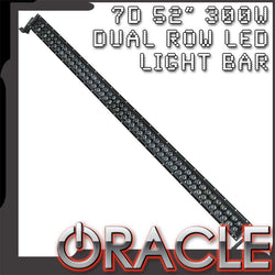 "ORACLE Black Series - 7D 52"" 300W Dual Row LED Light Bar"