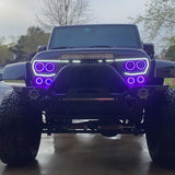 ORACLE Vector™ Series Grill LED Halo Kit - JK/JL/JT