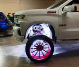 ORACLE White Underbody Wheel Well Rock Light Kit - 4 Piece