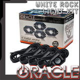 ORACLE White Underbody Wheel Well Rock Light Kit - 4 Piece - PRE-ORDER