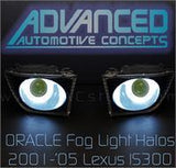 2001-2005 Lexus IS300 ORACLE Fog Light Halo Kit